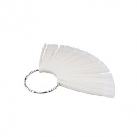 Дисплей для лаков на кольце, белый