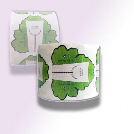Формы для наращивания 500 шт / Global Fashion / Green