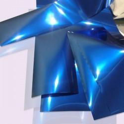 Фольга для ногтей переводная, blue