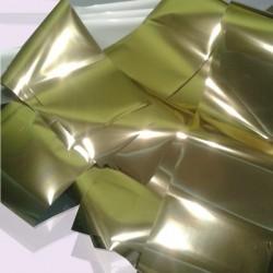 Фольга для ногтей переводная, gold