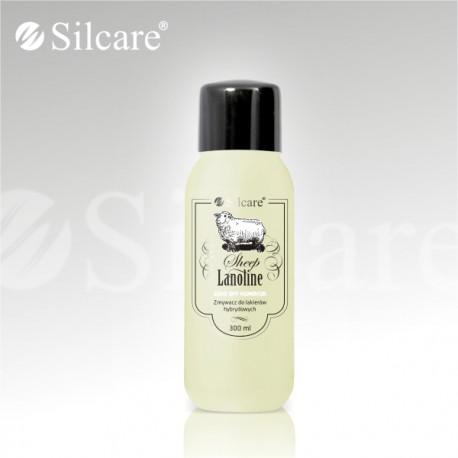 Жидкость для снятия гель-лаков Soak Off Remover Silcareс ланолином, 300мл, Silcare