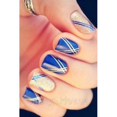 Набор: Нить-фольга для дизайна ногтей