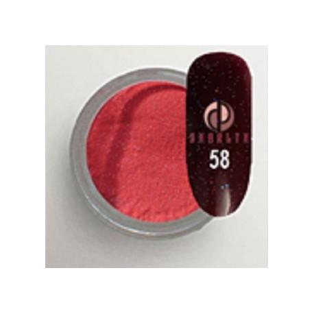 Акриловая пудра цветная / Red Collection 58
