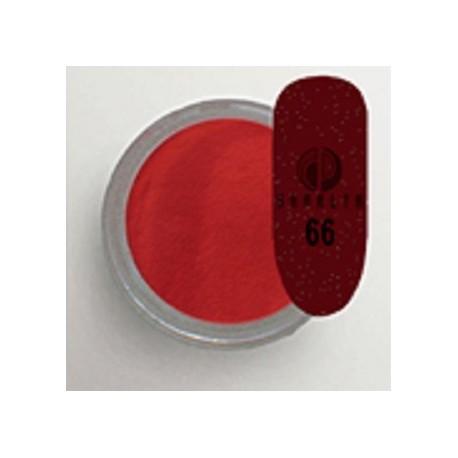 Акриловая пудра цветная / Red Collection 66