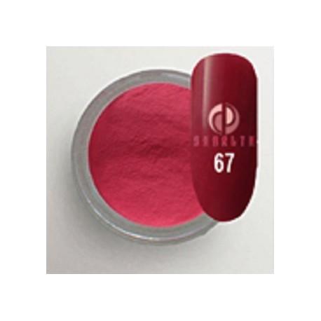 Акриловая пудра цветная / Red Collection 67