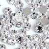 Стразы, Crystal Clear SS3, 100шт