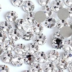 Стразы NailArt для ногтей, Crystal Clear SS3, 50шт