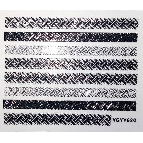 Наклейки самоклеящиеся, S680