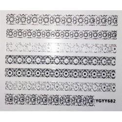 Наклейки самоклеящиеся, S682