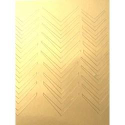 Металлизированные наклейки для ногтей Z1