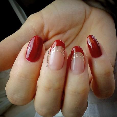 Металлизированные наклейки для ногтей Z3