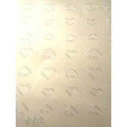 Металлизированные наклейки для ногтей S11