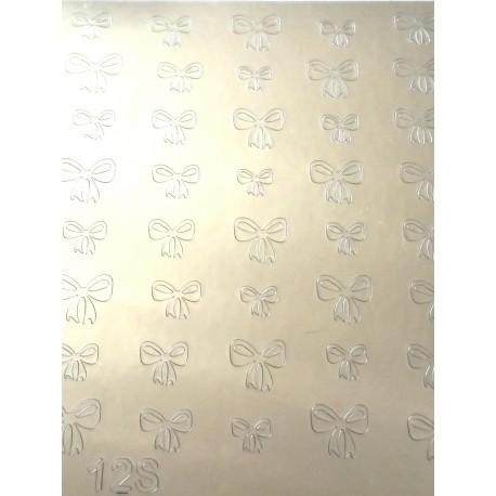Металлизированные наклейки для ногтей S6