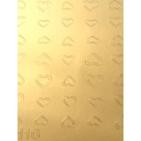 Металлизированные наклейки для ногтей Z11