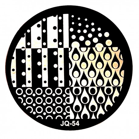 Стемпинг диск для ногтей, JQ54