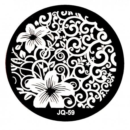Стемпинг диск для ногтей, JQ56