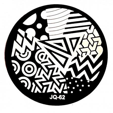 Стемпинг диск для ногтей, JQ59