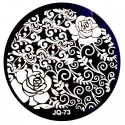 Стемпинг диск для ногтей, JQ62