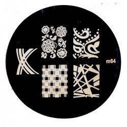 Стемпинг диск для ногтей, m60