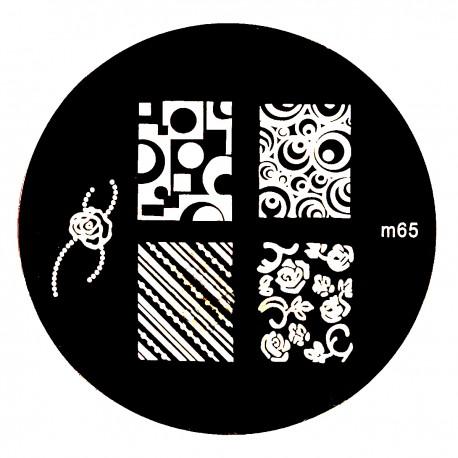 Стемпинг диск для ногтей, m64