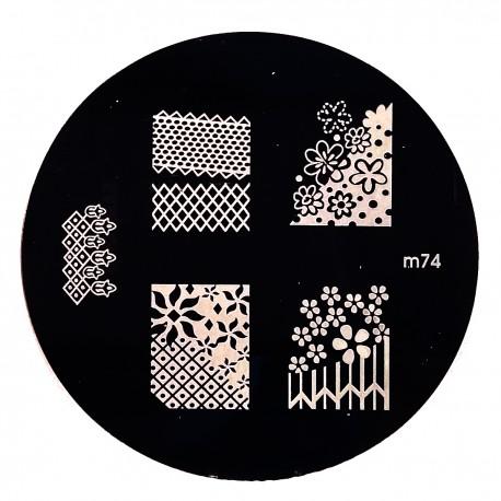 Стемпинг диск для ногтей, m65