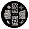 Стемпинг диск для ногтей, STZ01