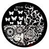Стемпинг диск для ногтей, STZ06