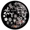 Стемпинг диск для ногтей, STZ09