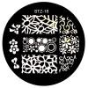 Стемпинг диск для ногтей, STZ18