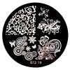 Стемпинг диск для ногтей, STZ19