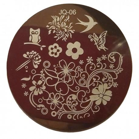 Стемпинг диск для ногтей, JQ02