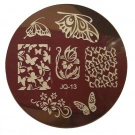 Стемпинг диск для ногтей, JQ13