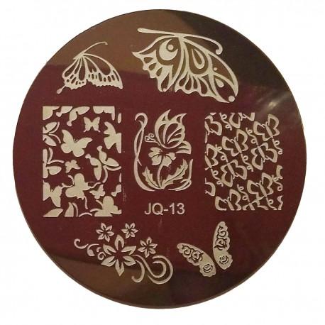 Стемпинг диск для ногтей, JQ06