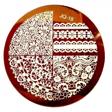 Стемпинг диск для ногтей, JQ14