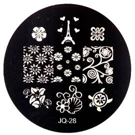 Стемпинг диск для ногтей, JQ18
