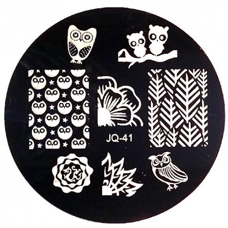 Стемпинг диск для ногтей, JQ38
