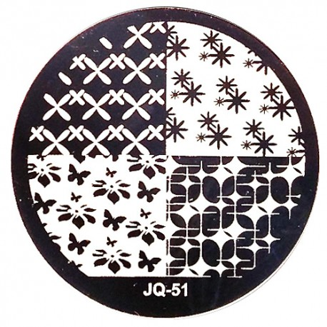 Стемпинг диск для ногтей, JQ41