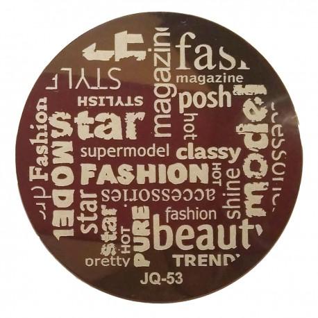 Стемпинг диск для ногтей, JQ51