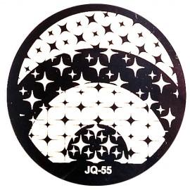 Стемпинг диск для ногтей, JQ55