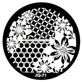 Стемпинг диск для ногтей, JQ67