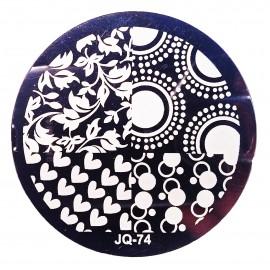 Стемпинг диск для ногтей, JQ72