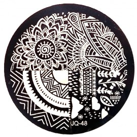 Стемпинг диск для ногтей, JQ48