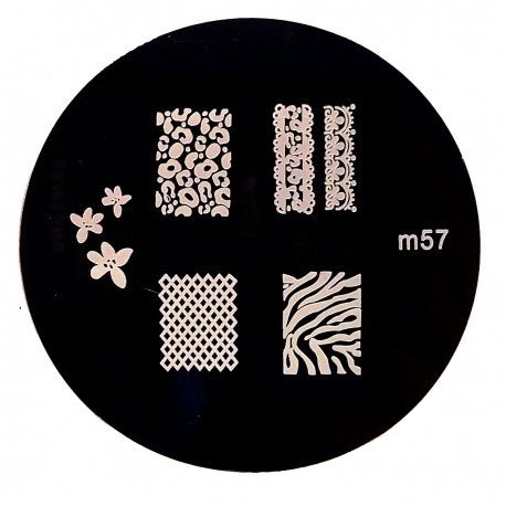 Стемпинг диск для ногтей, JQ74