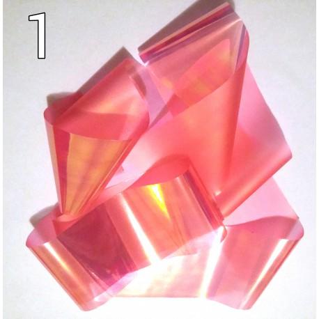 Набор фольга «Битое стекло» 6 лент