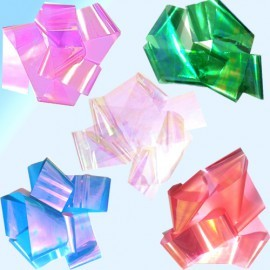 Набор фольга «Битое стекло» 5 лент