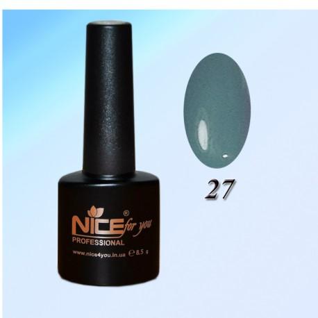 """Гель-лаки ТМ """"Nice"""" №27"""