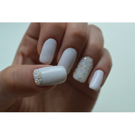 Хрустальная крошка для ногтей / Crystal Pixie, Clear АВ 500 шт