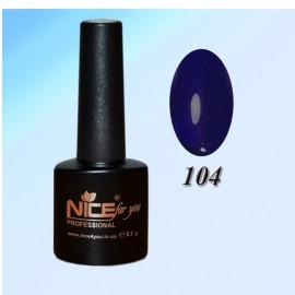 """Гель-лаки ТМ """"Nice"""" №104"""