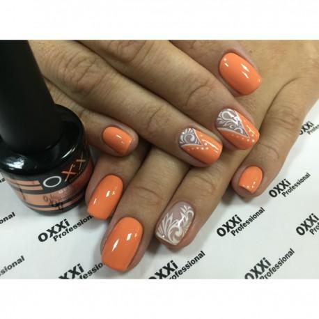 Гель - лак Oxxi №03 (оранжевый, эмаль)