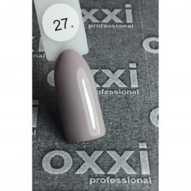 Гель - лак Oxxi №27 (светлый асфальт, эмаль)